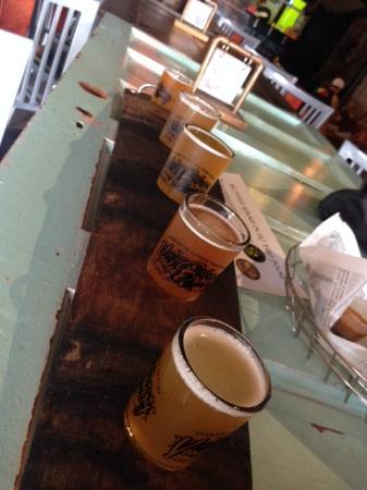 Voodoo Brewery: Beer Flight