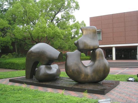 Yamanashi Prefectural Museum of Art: 「四つに分かれた横たわる人々」