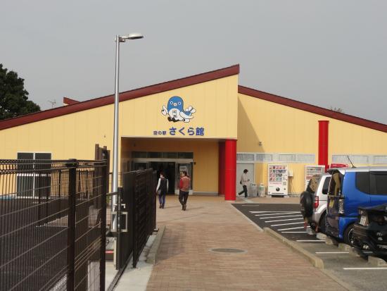 Sora no Eki Sakura Hall: 空の駅さくら館