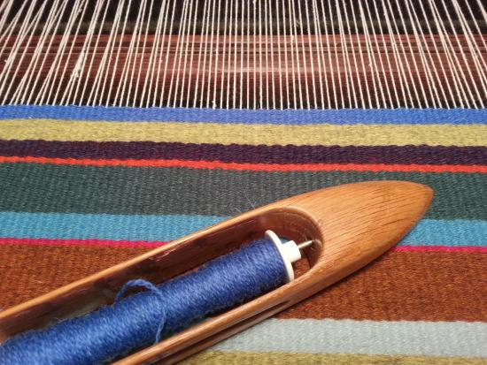 Black Cat Farmstead: Weaving studio