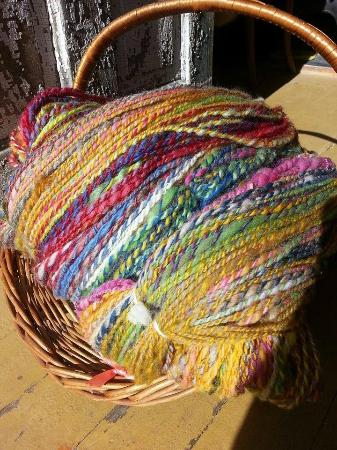 Black Cat Farmstead: A big skein of fall color yarn