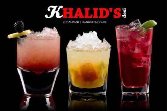 Khalid's Desi Restaurant: 2 for 1 mocktails