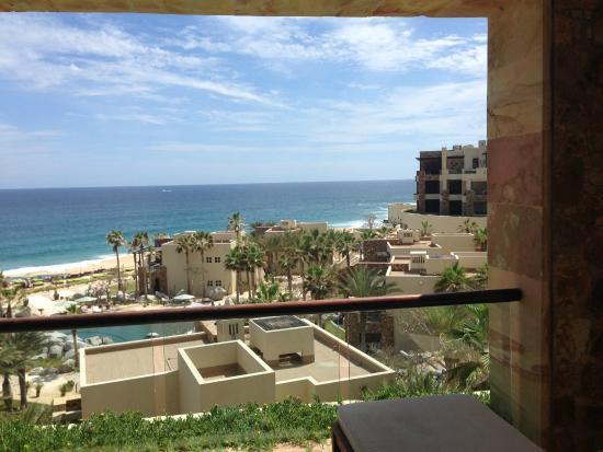 Waldorf Astoria Los Cabos Pedregal: View from master bedroom