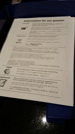 Hotel Gracery Shinjuku: Regras