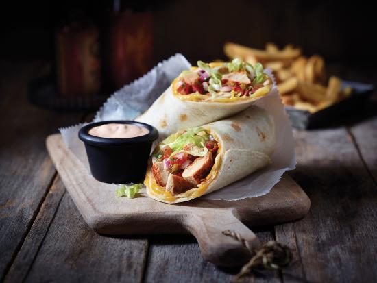 Applebee's: Chicken Fajita Roll Up