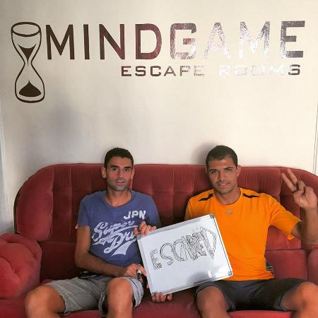 """Mindgame - Escape Rooms Pafos: """"Πασπαρτού"""""""