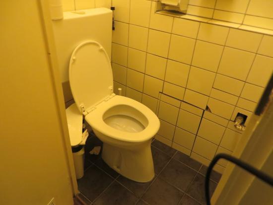 Bicycle Hotel: Banheiro compartilhado