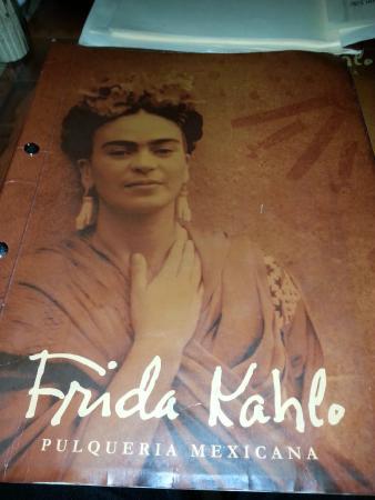 Frida Kahlo: Speisekarte