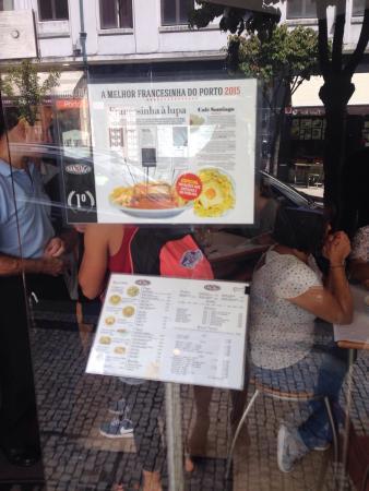 Cafe Santiago F: Café Santiago F