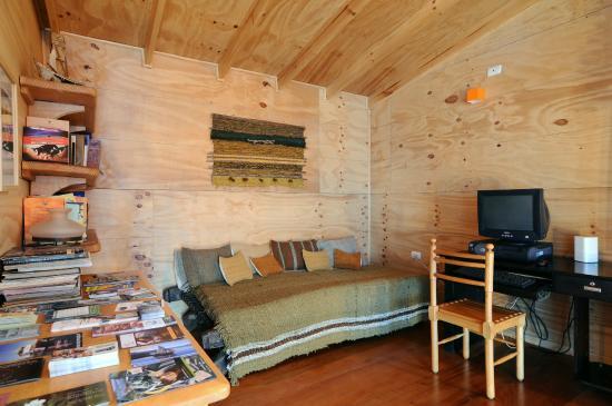 Palafito Waiwen: Sala de estar