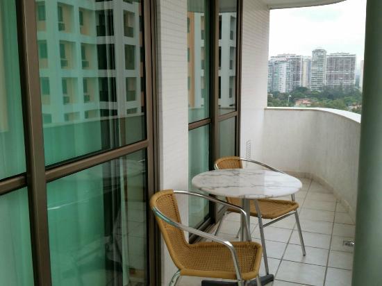 Transamerica Prime Barra: varanda do apartamento