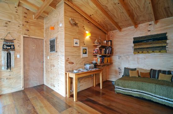 Palafito Waiwen: espacios comunes