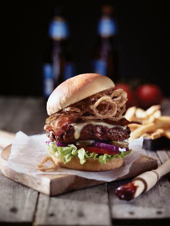 Applebee's: Cowboy Burger