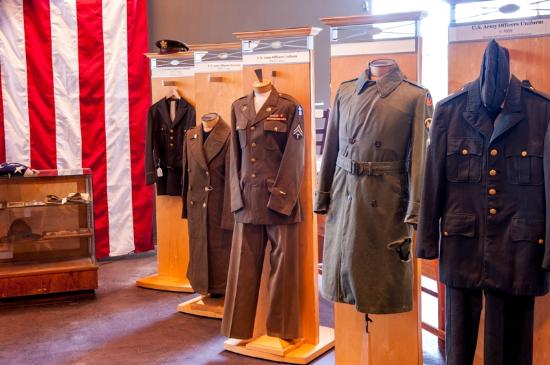 Douglas County Museum of History and Art: Tribute to our Military-Uniform Exhibit You will feel a moment of gratitude and awe to those who