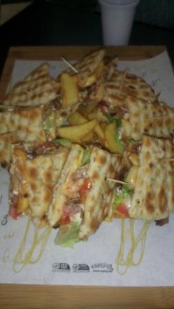 Spartan Greek Food Torino: PITA