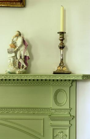 Homewood Museum: Detail of Chimneypiece