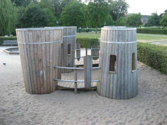 De Kas: レストランから行かれる公園