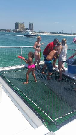 Cattywampus Eco Adventures: Hula hooping, snorkeling, and dolphin watching.