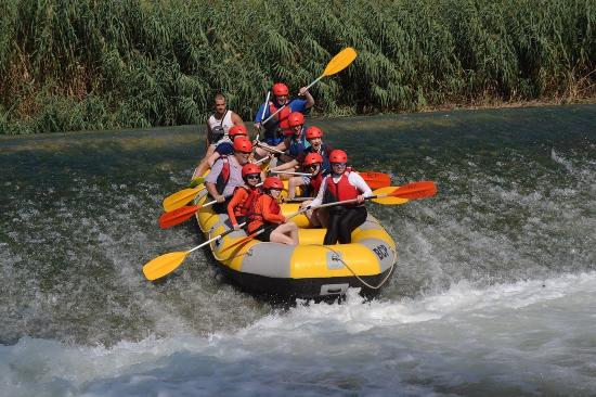 Rafting Murcia: The smaller drop
