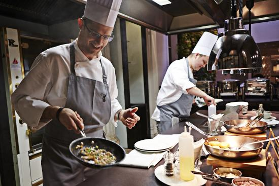 Die Küche - Live Cooking - Bild von Restaurant Die Küche, Wien
