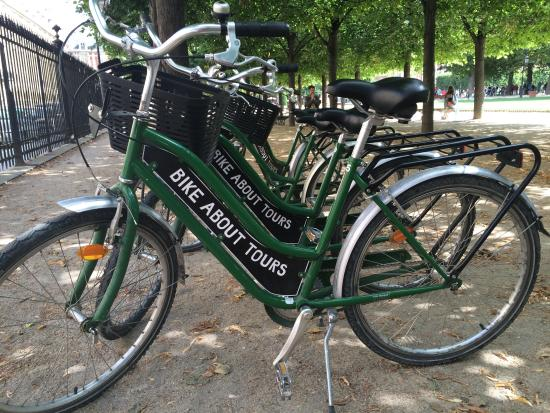 Go green with Bike About Tours!