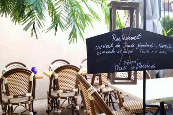 Le Poivretsel: La terrasse du restaurant PoivretSel