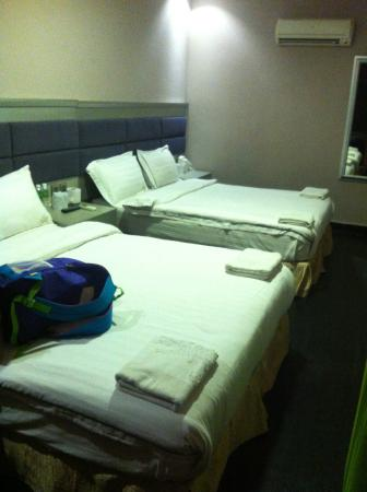 Euro Rich Hotel: 2 double bed room