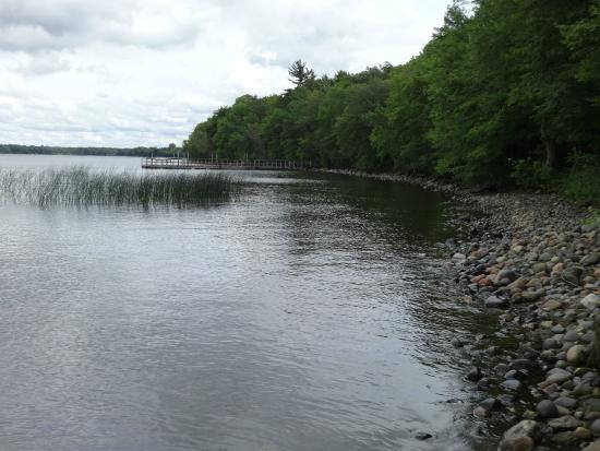 Father Hennepin State Park: View from Dock