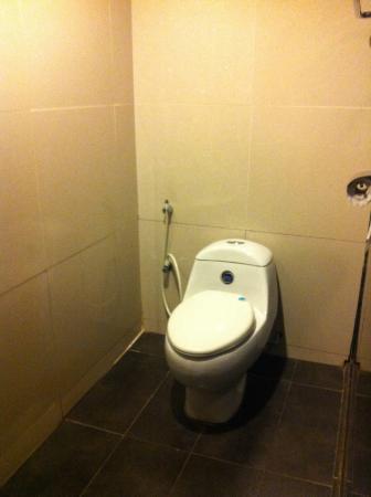 Euro Rich Hotel: Toilet
