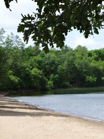 Father Hennepin State Park: View from Beach