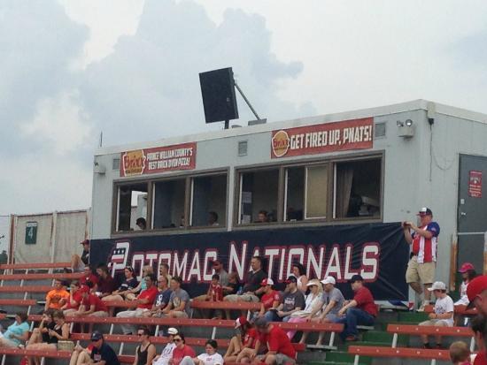 Pfitzner Stadium: Press box
