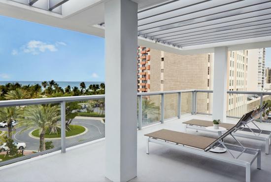 Ac Hotel By Marriott Miami Beach Ocean View Balcony