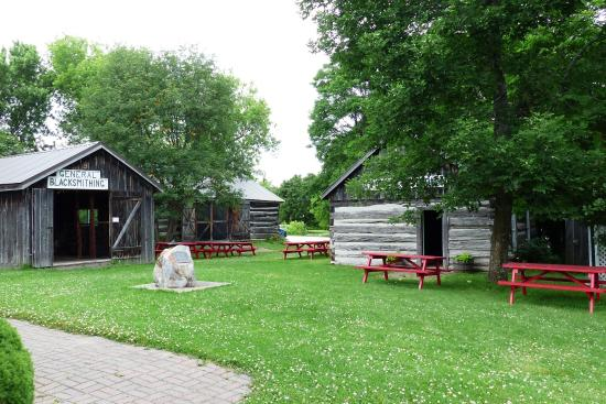 Manitowaning, Canada: Assiginack Museum Grounds