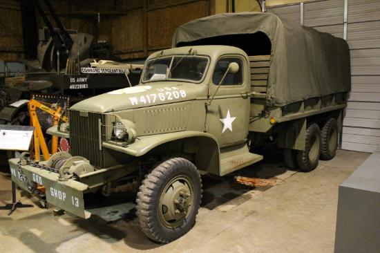 Huntsville, AL: GMC CCKW 2.5 ton cargo truck