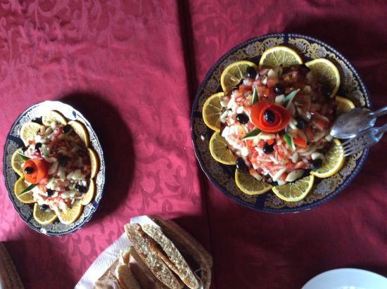 Restaurant Kasbah Valentine : Ensalada