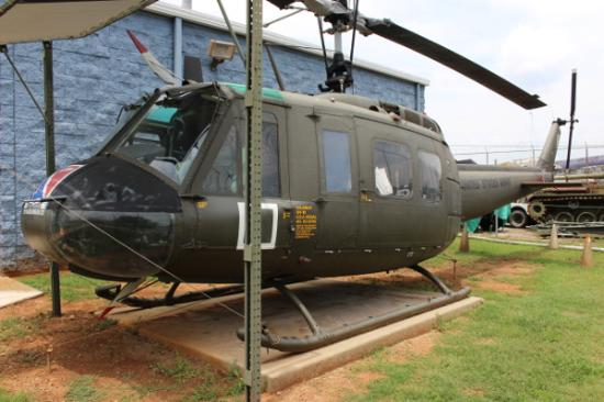 "Huntsville, AL: Bell UH-1 Iroquois ""Huey"" Helicopter"