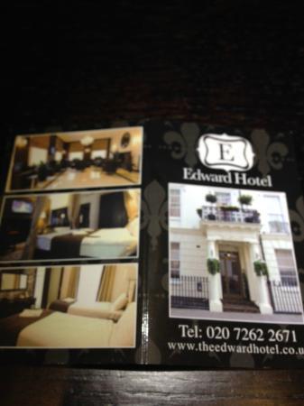 Hotel Edward Paddington : Key Card