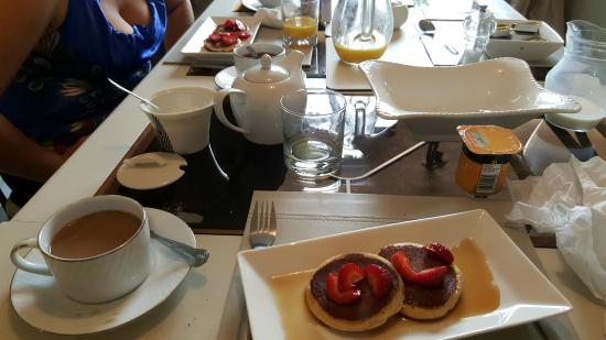 Kingsdown, UK: pancakes maisons