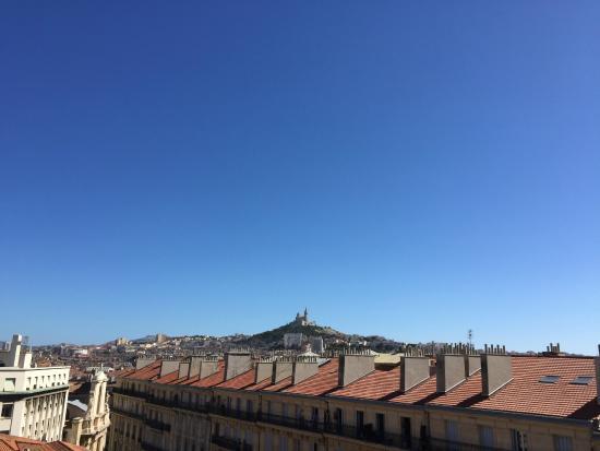 Ibis Marseille Centre Vieux Port : Utsikt över Marseille