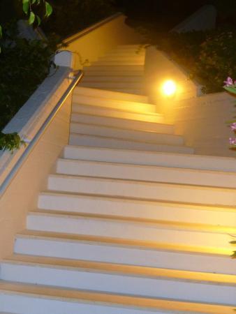 Hapimag Resort Damnoni: Treppen