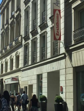 Residhome Paris-Opera: fachada
