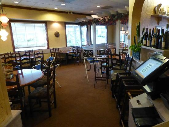 olive garden seating section example - Olive Garden Bellingham