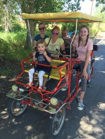 Bear Lake/Garden City KOA Campground: Limo surrey