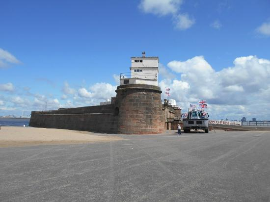 Fort Perch Rock: The Fort yesterday 29/07/2015
