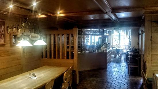 Zandt, Alemania: Restaurant - Teilansicht