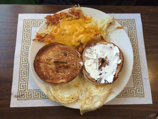 Decatur, MI: Cheesey hash browns