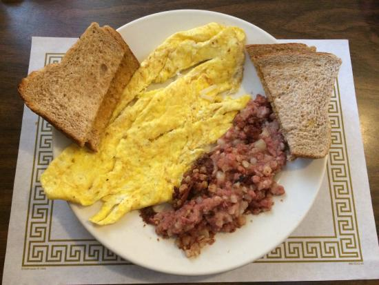 Decatur, MI: I love the corned beef hash
