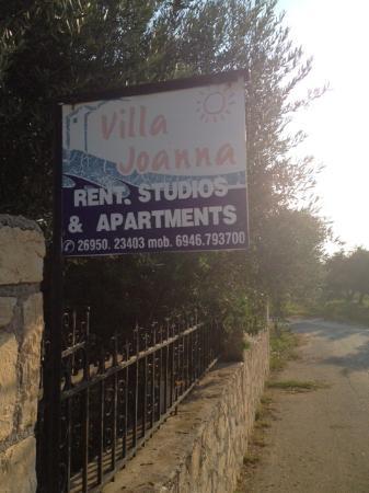 Villa Joanna Studios & Apartments