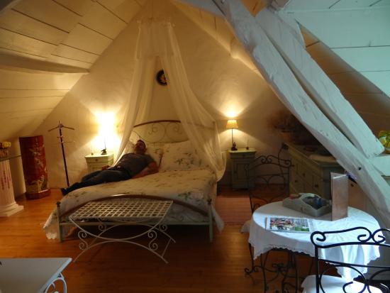 "Saint-Brice, Francja: chambre ""la romantique"""