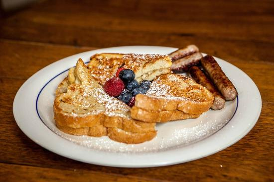 The Tartan Fox at the Meadmere: Stuffed French toast
